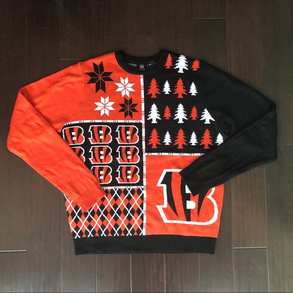 cheap for discount 35e81 4575c Cincinnati Bengals Ugly Christmas Sweater